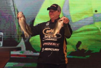 Bulloch fisherman is in 40th place after first round of Bassmaster Classic.