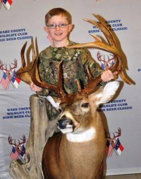 A huge non-typical buck killed by a 10-year-old Virginia boy took home the Dixie Deer Classic's top honor this past weekend, Best in Show.