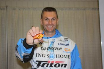 Former Lake Gaston guide Randy Howell has had a noisy crankbait named in his honor.