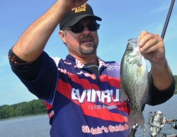 Jordan Lake's crappie have made their first big move out of deep water, but the move to the shallows to spawn may be a few days away.