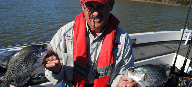 Hyco Lake fishing behind schedule, but crappie showing signs of breakout