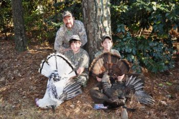 Two Lenoir County triplets killed huge gobblers on opening day of North Carolina's youth-only turkey season, and one of them was an especially special bird.