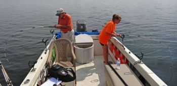 Fast action for Lake Moultrie striped bass - Carolina Sportsman