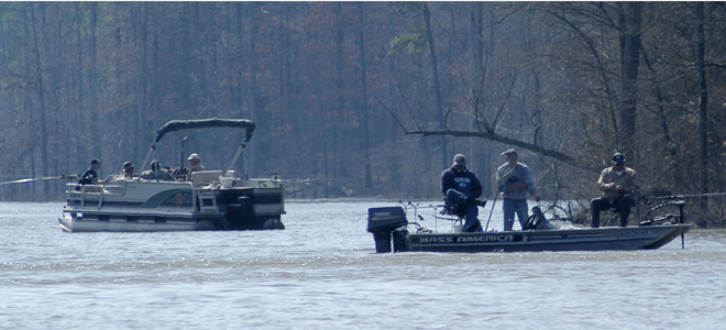 Crappie spawning in waves on Raleigh-Durham area's three big lakes