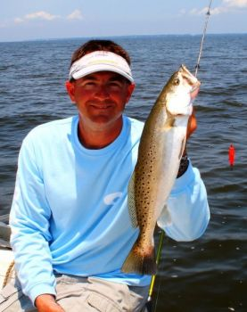 Cork rigs are a staple of fishermen targeting inshore species like speckled trout.