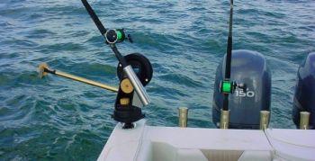 Downriggers provide a great way to fish deep - Carolina