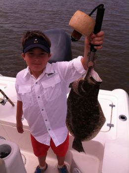Flounder fishing has been great on both sides of the North Carolina-South Carolina border.