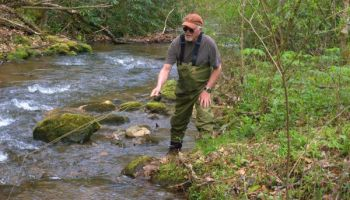 Fishing small, backcountry streams is the key to successful, late-summer fishing.
