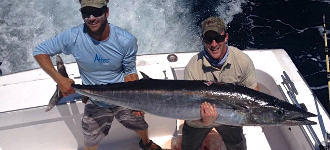 New York angler boats 95-pound wahoo on offshore trip out of Oregon Inlet
