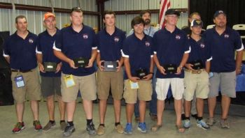A high-school team and a junior-high team from Yadkin County have won national hunter-education team titles.