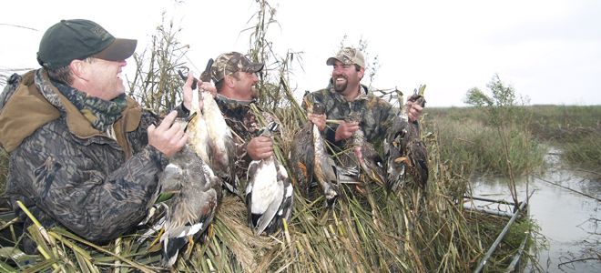 Permit-only waterfowl hunts are available for North Carolina hunters