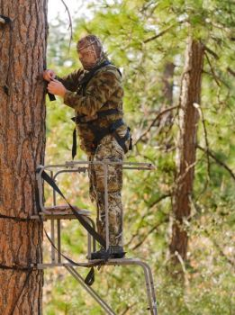 Despite their ease of operation and availability, only 40 percent of hunters use safety harnesses when hunting from elevated stands.