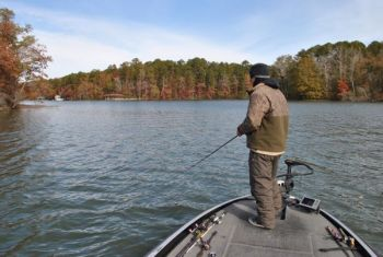 Summer scouting equals fall bass on lake tillery for Lake tillery fishing