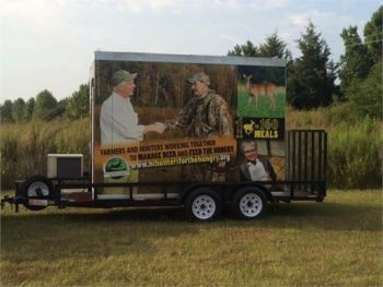 Helping feed the hungry is easier for hunting clubs thanks to the free cooler rental program administered by the partnership of the NCWRC, the N.C. Wildlife Federation, and the N.C. Hunters for the Hungry Program.
