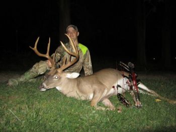 Chad Gaines watched this buck for several years before deciding to harvest it on Sept. 21.