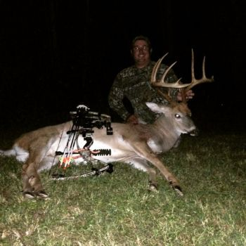 Jonathan Phillips knew the wind was not on his side, so he trekked into the woods as odorless as possible and killed his target buck.