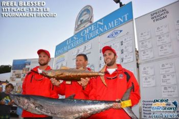 The 37 U.S. Open King Mackerel Tournament has been moved to Oct 29-31due to inclement weather from Hurricane Joaquin.