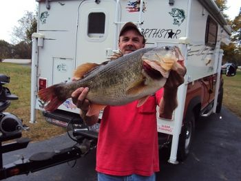 Keith Deal joined the double-digit bass club at Shearon Harris Lake exactly 37 years after his dad caught a fish of the exact same weight, 11.4-pounds.