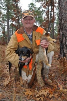 Head to the Sandhills Game Lands, which covers 65,000 acres, and you'll find good squirrel hunting.