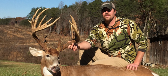 Belews Creek hunter kills 22-point, 200+ inch, non-typical buck