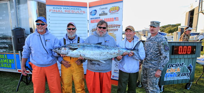 Team Blue Water Candy catches record king mackerel