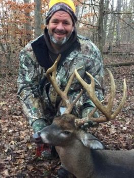 Todd Cochrane killed this buck in Cabarrus County. The 9-pointer measured 149-inches when green-scored.