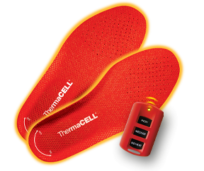 ThermaCELL's Heated Insoles are just as effective at keeping your feet warm as their mosquito repellant products are at keeping bugs away.