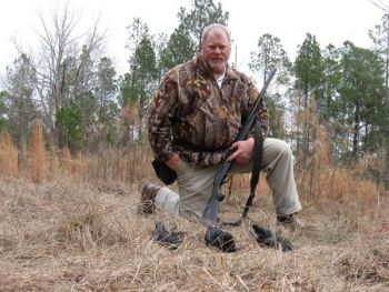 "Dondi Rogers of Saluda is a veteran crow hunter who said the wing-shooting is ""fun and frustrating."""