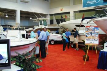 Boat shows offer not only the opportunity to shop for boats, but to talk with experts in the field about different features anglers might want.