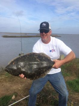 Clay Morphis caught this 13-pound flounder from the North Santee River on Dec. 29.