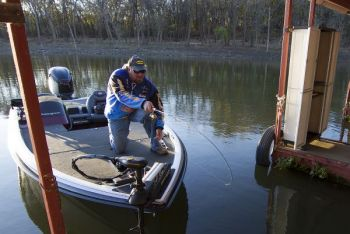 Shooting docks is an effective technique for getting crappie jigs in hard-to-reach places, and it's now easier and safer with Pull Tabs.