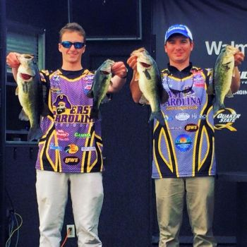 Austin Warmus and Mike Corbishley finished 3rd in the most recent FLW College Fishing Southeastern Conference qualifying tournament on Crescent Lake, Florida.