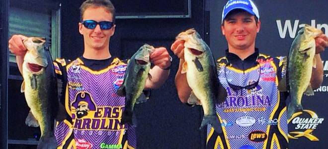 ECU, ASU fishing teams qualify for 2017 FLW National Championship