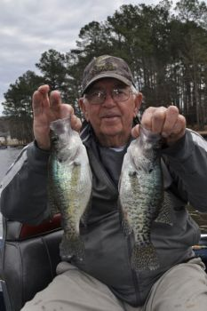 Tar River Reservoir has some of the best crappie fishing in North Carolina.