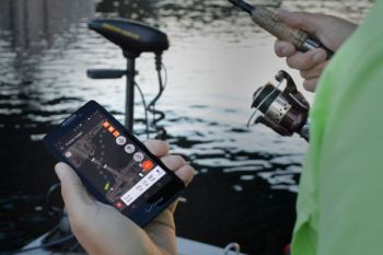 "ProNav Angler adds electronic super powers to a ""dumb"" trolling motor with electric steering and then lets you manually or automatically navigate and position your boat as you fish."