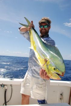 Justin Carter said the difference between a good and a great day offshore often comes down to the finer details of trolling for dolphin.