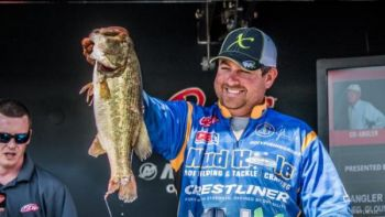 John Cox of DeBary, Florida took over the lead at the Lake Hartwell FLW tournament, but South Carolina's Anthony Gagliardi jumped into 7th with a strong showing on day two.