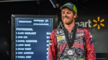University of South Carolina angler Hampton Anderson teamed up with Chris Blanchette to win the National Championship, then beat Blanchette in a one-day fish-off for a berth in the Forrest Wood Cup.