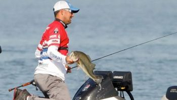 Marty Robinson of Lyman finished 3rd in the St. John's River Bassmaster Elite Series event.
