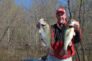 Former bass pro Marty Stone said it's time to fish shallow for largemouth across North Carolina's lakes.