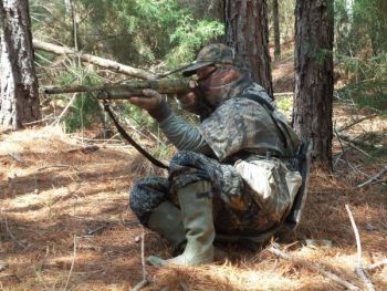 Sometimes, calling softly will bring that gobbler into range.