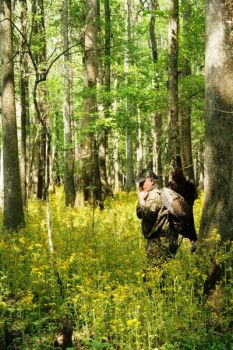 Hunt deeper  in swamps and big woods late in the season for a better chance at a big gobbler.