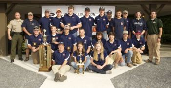 Forbush High School won the senior division for the 2nd straight year in the 2016 Youth Hunter Education Skills Tournament on Saturday.
