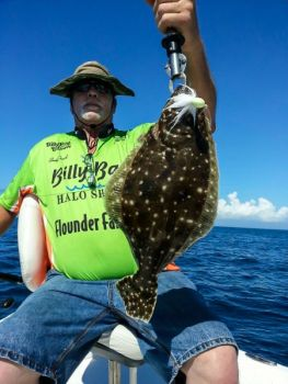 Flounder will stack up around the slightest change in bottom structure or contour.