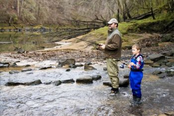 Introductory fly fishing classes, as well as many other programs, are offered throughout June at the Pisgah Center for Wildlife Education. These NCWRC programs are free, and open on a first-come, first-served basis.
