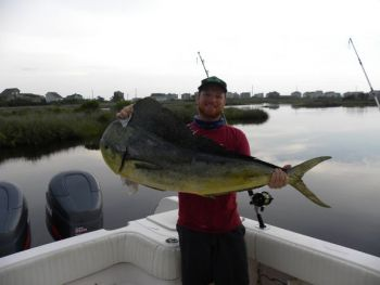Ethan Ingle is an all-around angler, and likes mixing bass fishing gear in with his offshore tackle.