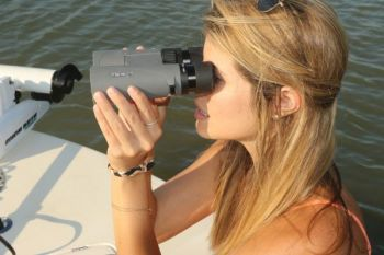 Binoculars can be just as useful for fishing as they are for hunting.