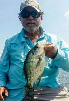 When summer slabs get extremely deep, small jigging spoons are a better method for drawing strikes that fishing with jigheads and soft-plastic artificials.