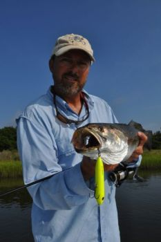 Wrightsville Beach�s summer speckled trout take a special approach.