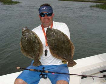 Hidden gem flounder run the tide for harkers island for Harkers island fishing report